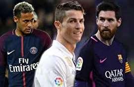 پردرآمدترین فوتبالیست های جهان