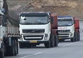 ترافیک کامیون ها در مرز عراق در پی قطع صادرات ایران