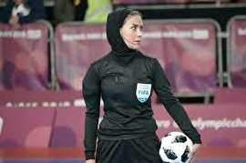 بانوی ایرانی، فینال فوتسال المپیک را قضاوت میکند