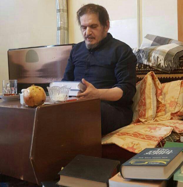 تصویر جدید از حسین خمینی نوه ارشد امام