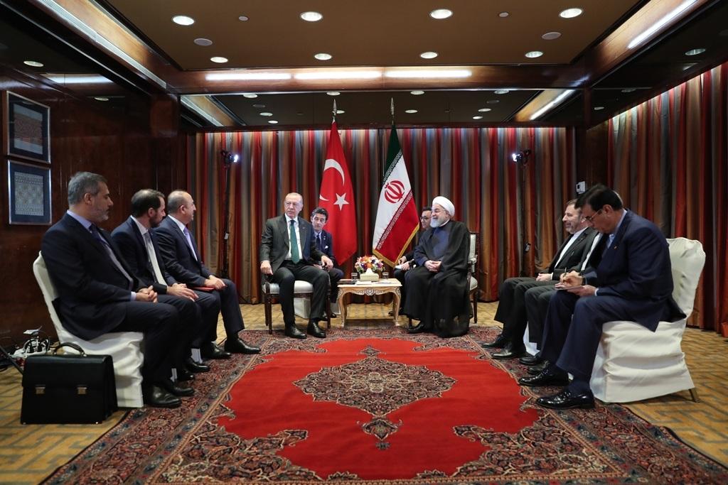 اردوغان به روحانی: برای مقابله با تحریم ها، دست در دست و در کنار شما خواهیم بود