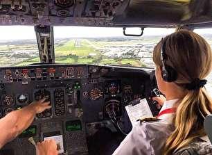 خوشتیپ ترین خلبان زن دنیا (+عکس)