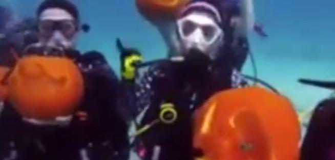هالوین در اعماق اقیانوس (عکس)