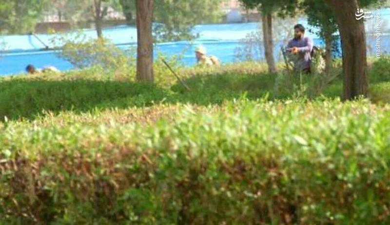 اولین تصویر یکی از تروریستهای حادثه اهواز