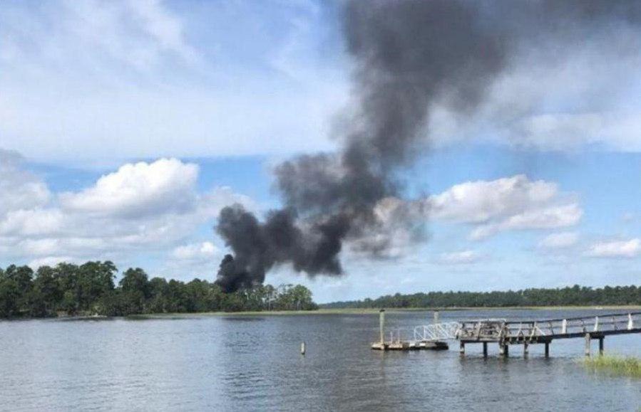 سقوط جنگنده اف35 تفنگداران ویژه دریایی آمریکا