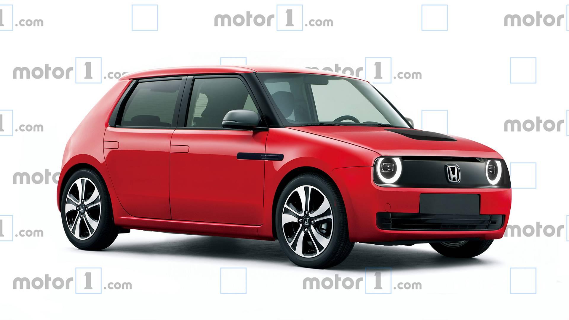 رندر نسخه تجاری خودروی الکتریکی هوندا