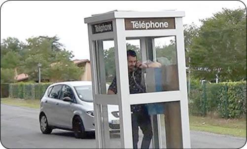طراحی تلفن متحرک توسط هنرمند فرانسوی (+عکس)