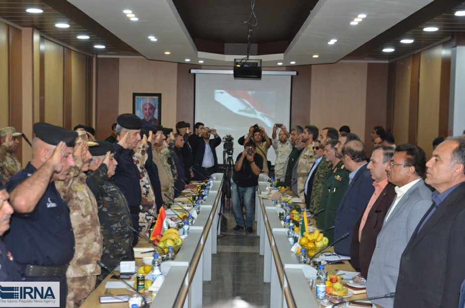دیدار اربعینی ایران و عراق در زرباطیه - مهران (عکس)