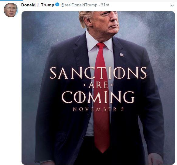 واکنش ترامپ به تحریمها علیه ایران