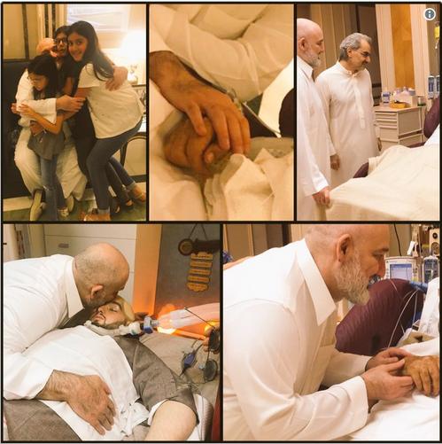 برادرزاده پادشاه عربستان از زندان آزاد شد (+عکس)