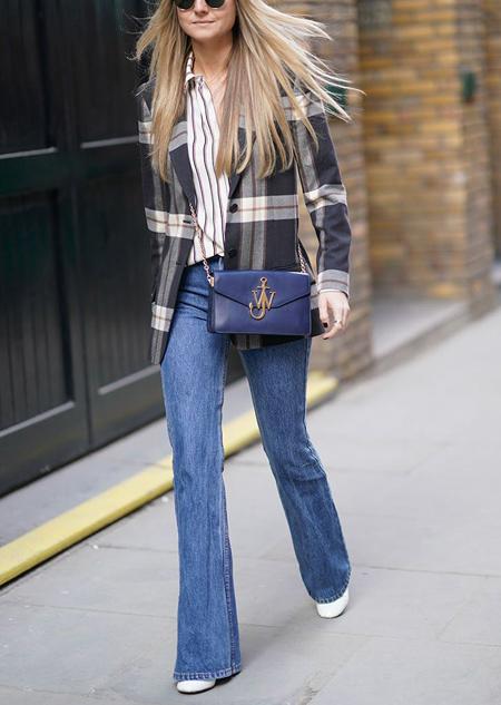شلوار جین مناسب انواع تیپ های بدنی