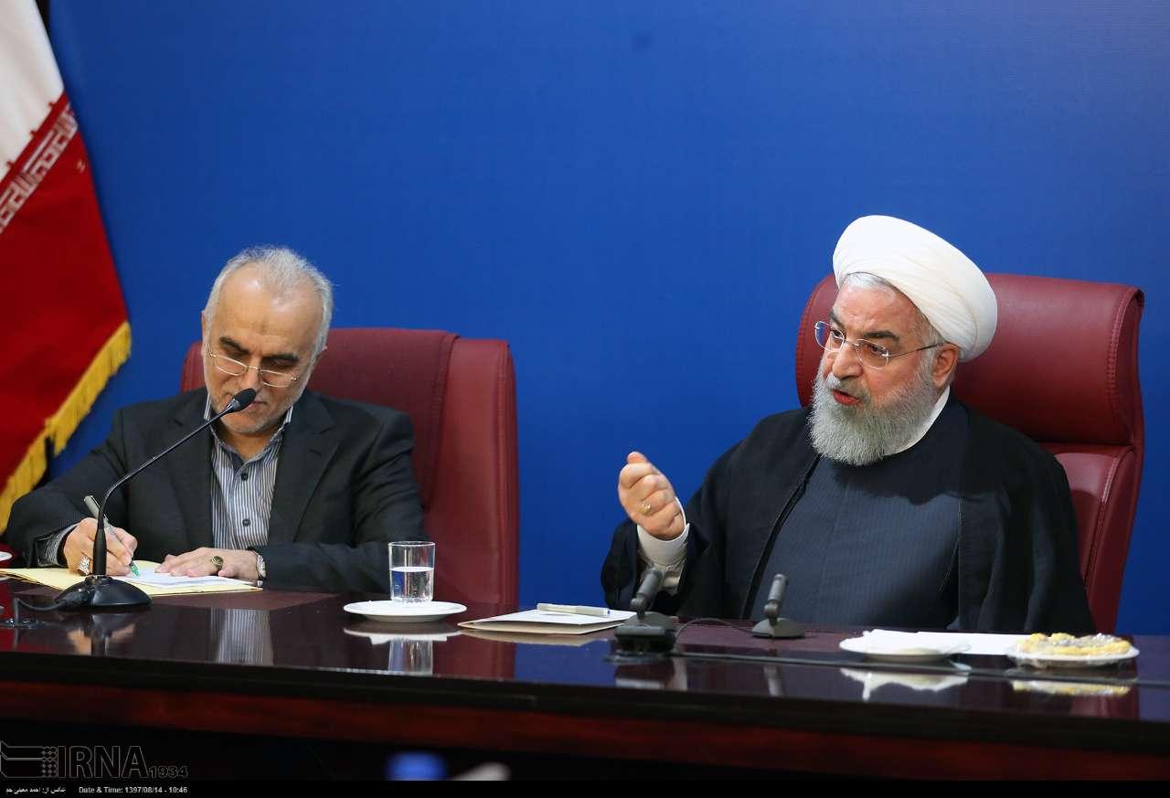 روحانی: مشکلی برای حرف زدن با ترامپ ندارم/ به عهدشان عمل کنند تا بنشینیم حرف بزنیم