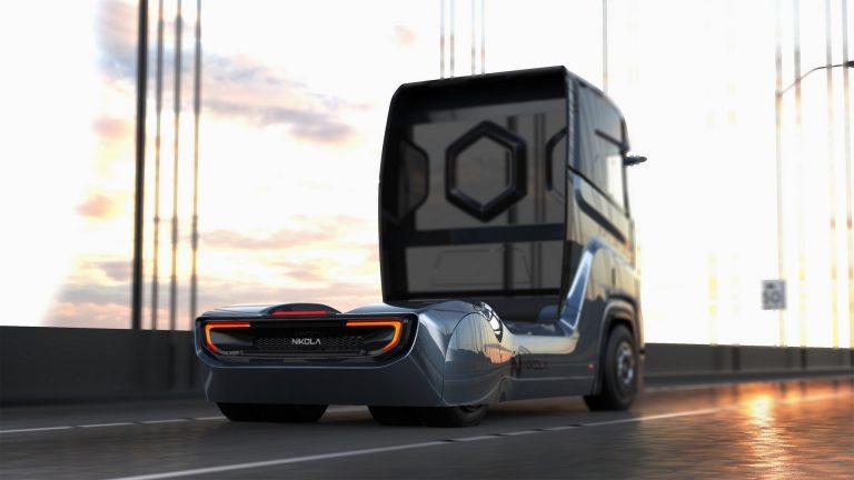 کامیون هیدروژنی نیکولا وارد اروپا می شود