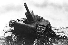 خودروی نظامی شوروی با طراحی متفاوت!(+تصاویر)