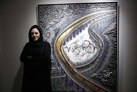 برپایی نمایشگاه نقاشی بیتا وکیلی در لندن به دلیل تحریمها عقب افتاد
