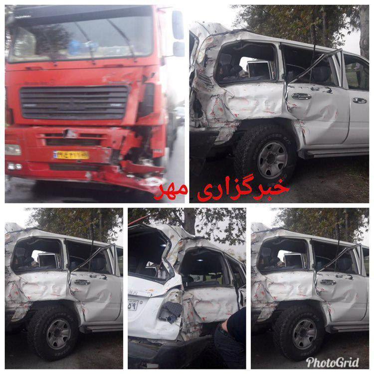 فوت رئیس سازمان تامین اجتماعی و معاونش در تصادف رانندگی