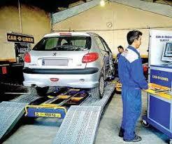 اعلام موارد نقص معاینه فنی وسایل نقلیه