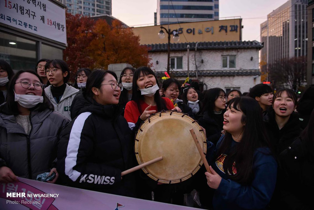کنکور در کره جنوبی (عکس)