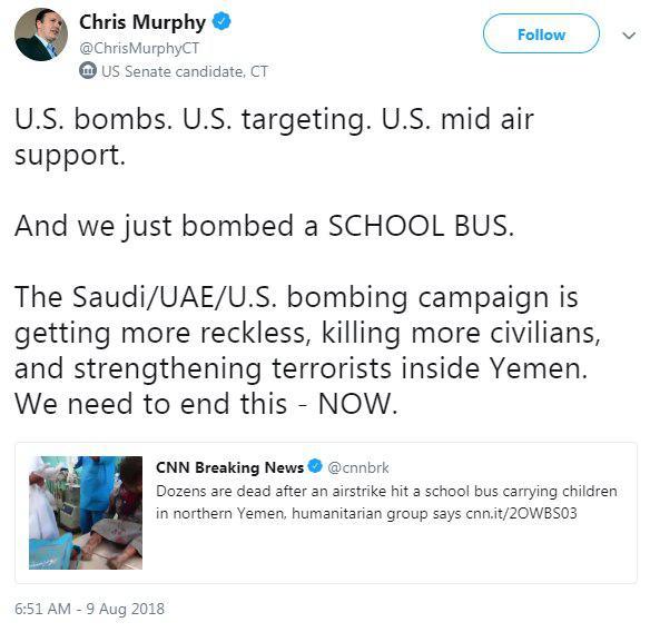 سناتوری که صدای کودکان یمنی است