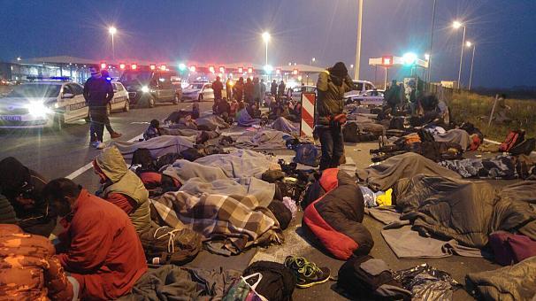 یک پناهجوی ایرانی: پلیس کرواسی به قصد کشت ما را کتک می زند (+عکس)