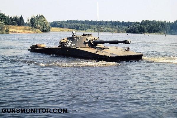 این تانک شنا می کند! (+تصاویر)