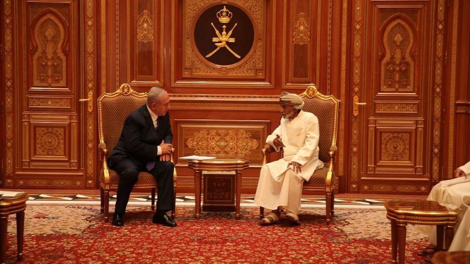 سفر محرمانه نتانياهو به عمان
