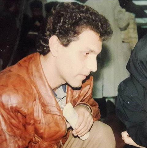 وقتی مهران مدیری خیلی جوان بود (عکس)