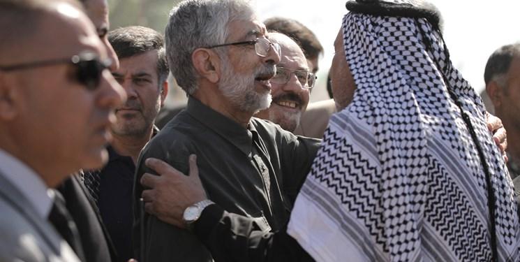 حضور حداد عادل در پیاده روی اربعین (عکس)