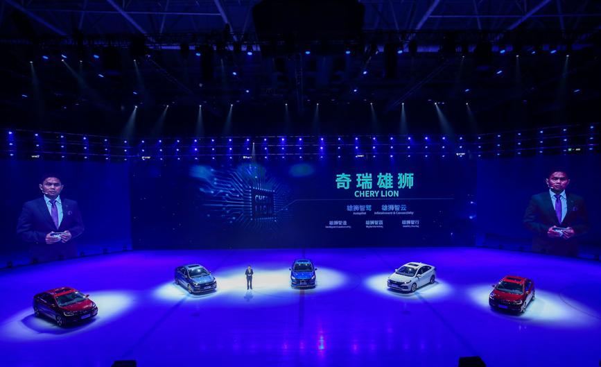 رونمایی از جدید ترین خودروی «چری» در شانگهای/ عرضه هم زمان در چین و ایران (+عکس)