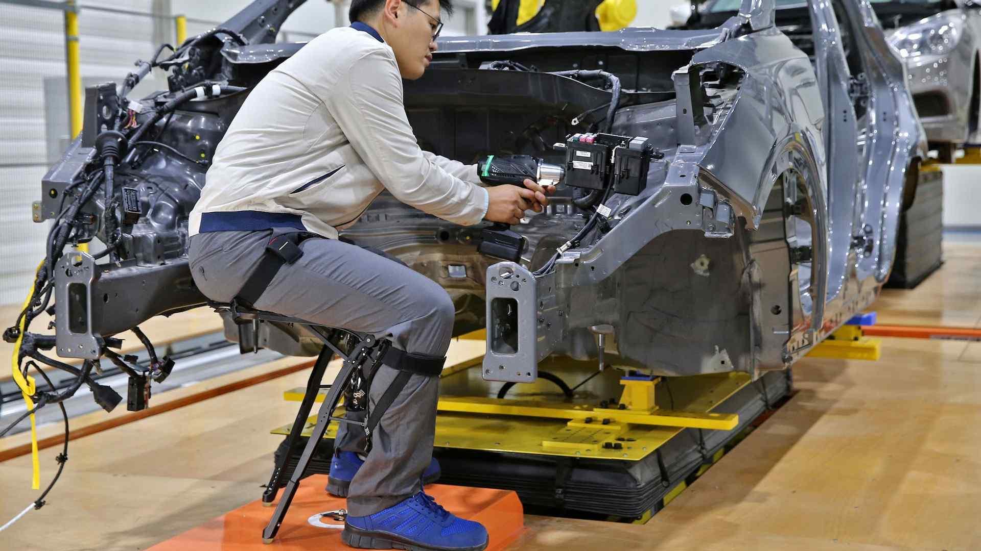 روباتهای پوششی در خودروسازی کره