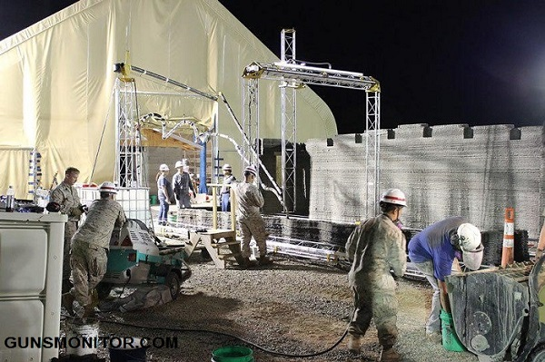 تکنولوژی خاص ارتش آمریکا در ساخت و ساز! (+عکس)