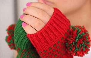 مدل دستکش بافتنی (عکس)
