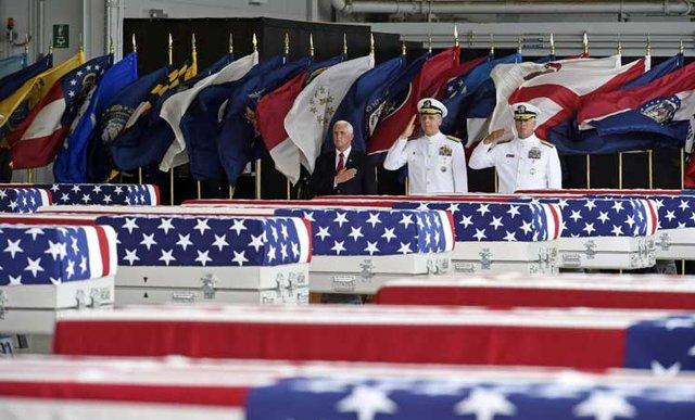 شکایت خانواده سربازان آمریکایی از ایران