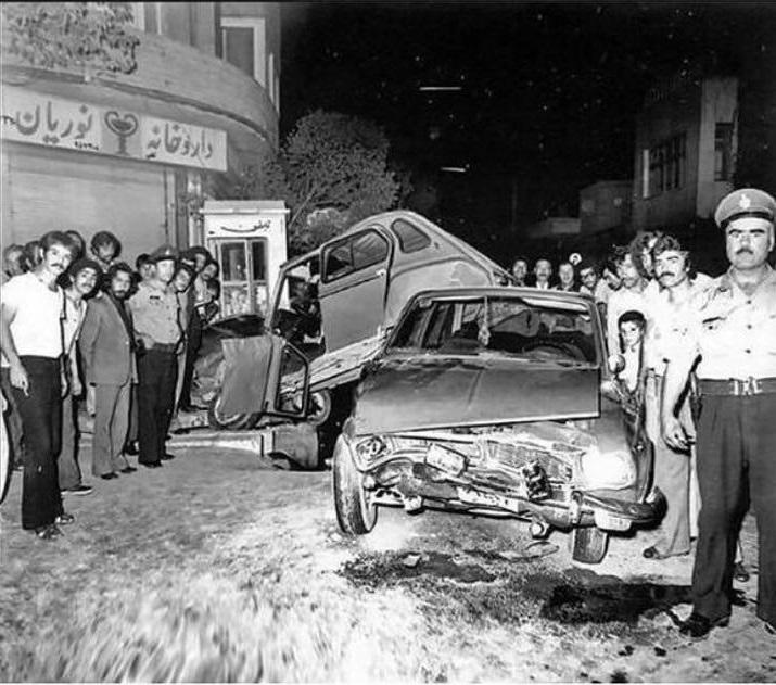 از قدیمی ترین تصادفات در ایران (عکس)