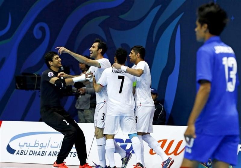 قهرمانی تیم ملی فوتسال ایران در تورنمنت اسلواکی