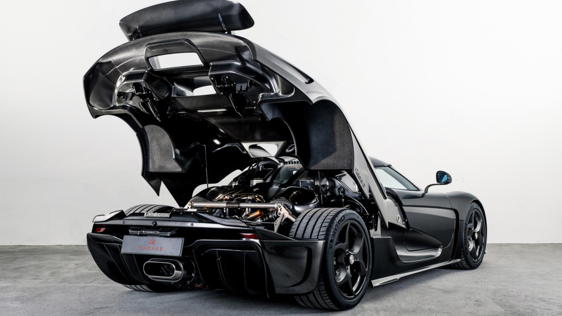 اثری هنری به نام کونیگزگ رگرا/ خودرویی از فیبر کربن خالص