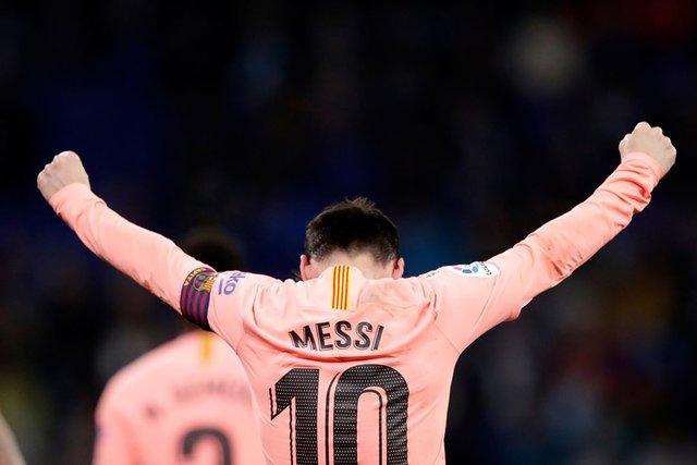 پیروزی 4 بر صفر بارسلونا مقابل اسپانیول