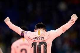 پیروزی پرگل بارسلونا مقابل اسپانیول