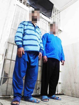 سارق مسلح که خود را مامور معرفی می کردند دستگیر شدند (+عکس)
