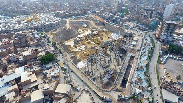 ساخت بزرگترین زیرگذر کربلا توسط ستاد بازسازی عتبات عالیات