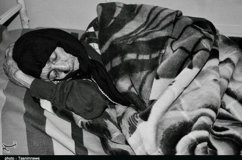 پیرترین زن ایران درگذشت (+عکس)