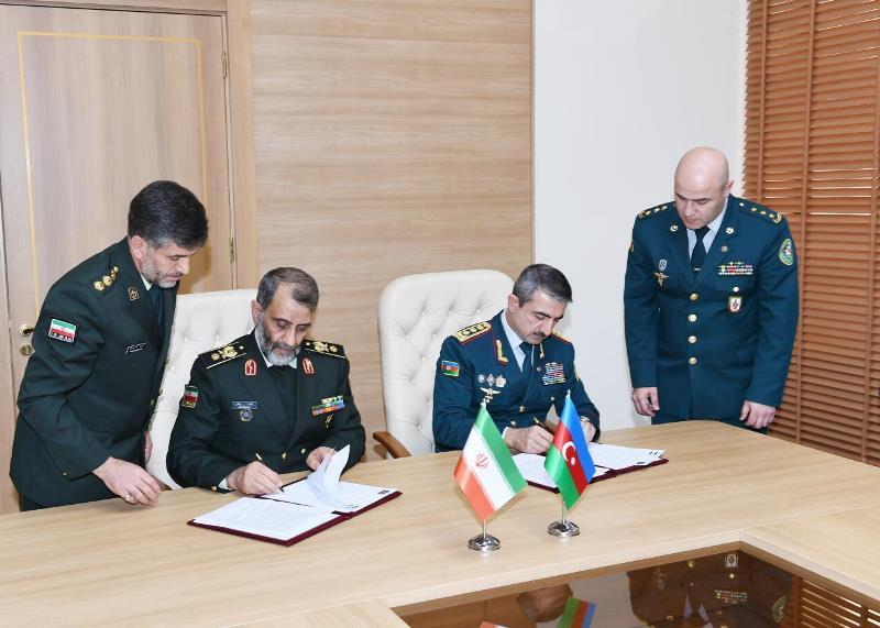 امضای پروتکل همکاری بین ایران و آذربایجان در زمینه مقابله با قاچاق