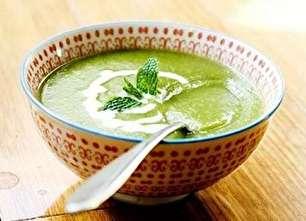 طرز تهیه سوپ کاهو
