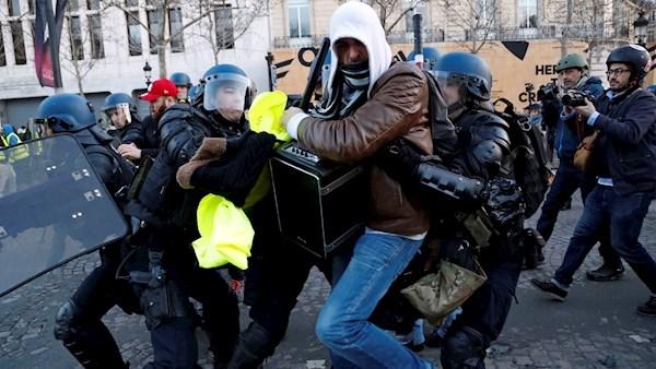3 نکته رسانه ای درباره اعتراضات فرانسه