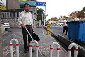 تردد نابینایان در خیابان ها ایمن نیست