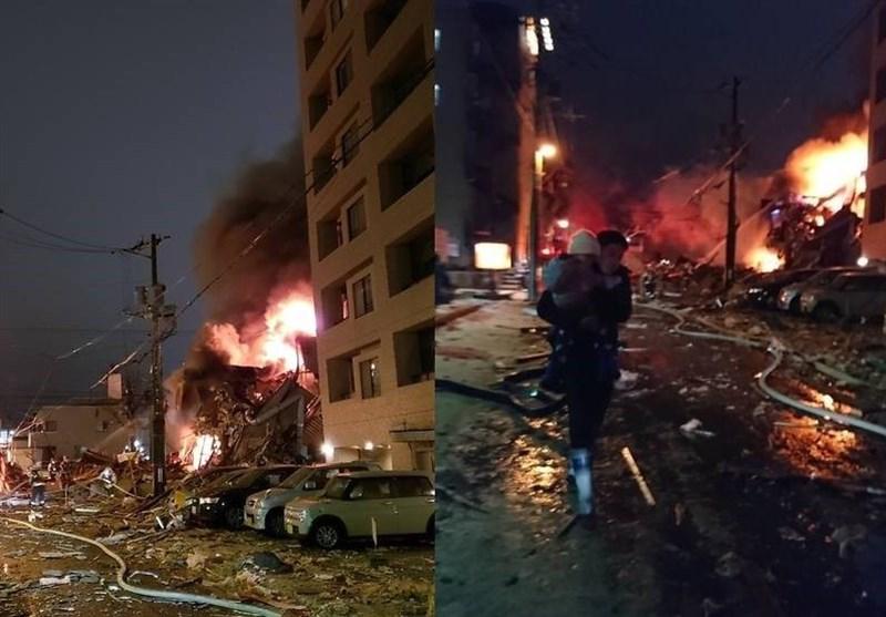 ۴۰ زخمی بر اثر انفجار رستورانی در ژاپن (+عکس)