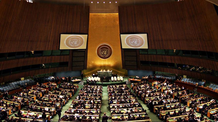 رای سازمان ملل به نقض حقوق بشر در ایران