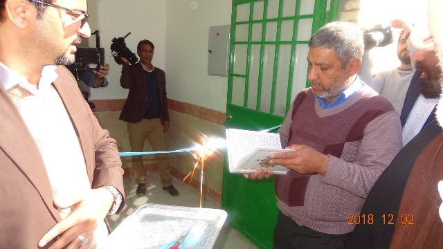 افتتاح مدارس و خانه بهداشت در روستاهای خراسان جنوبی