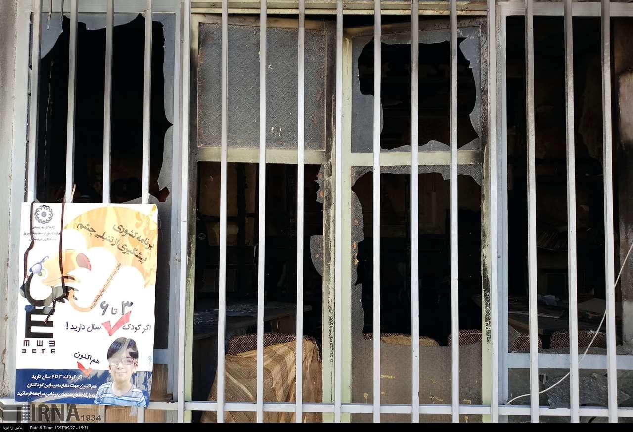 فوت 3 دانشآموز در آتشسوزی مدرسه / بازداشت مدیر و مربی آموزشی