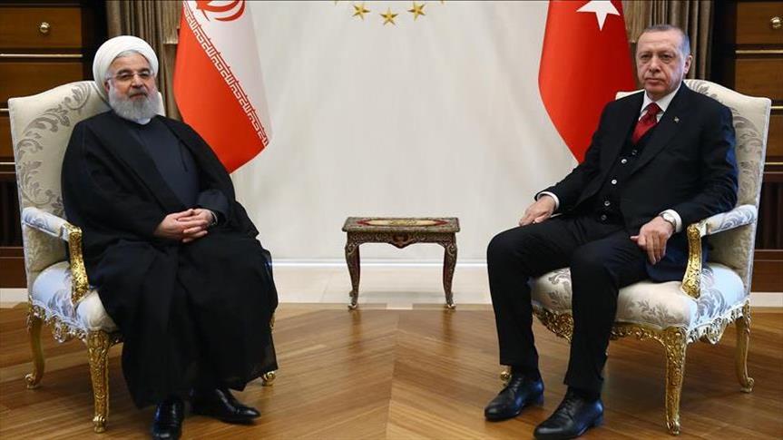 آغاز مذاکرات روسای جمهوری ایران و ترکیه